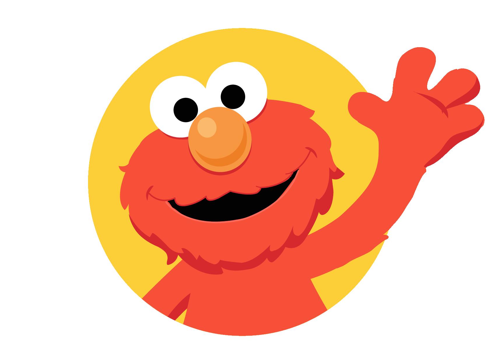 Cookie monster grover sesame. Elmo clipart big bird