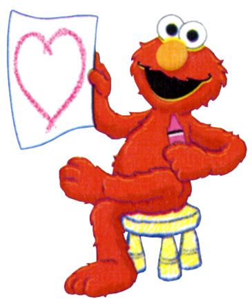 Elmo clipart drawing. Baby cookie monster clip