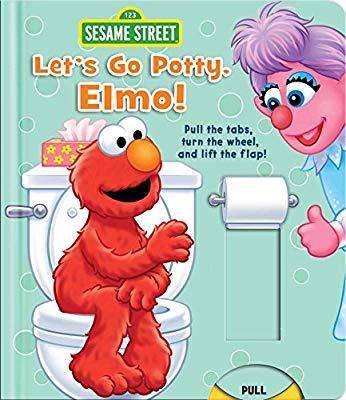 Sesame street let s. Elmo clipart elmo potty