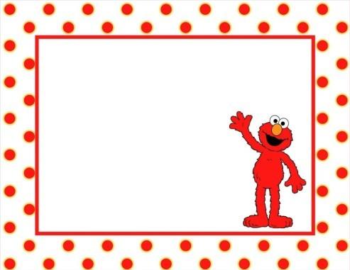 Elmo clipart frame. Birthday clip art free