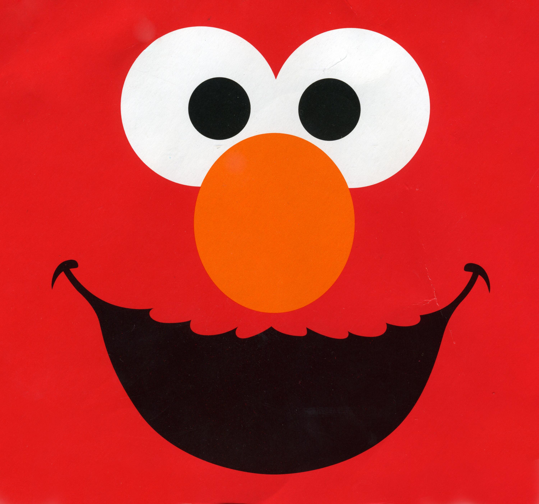 Birthday free clip art. Elmo clipart happy