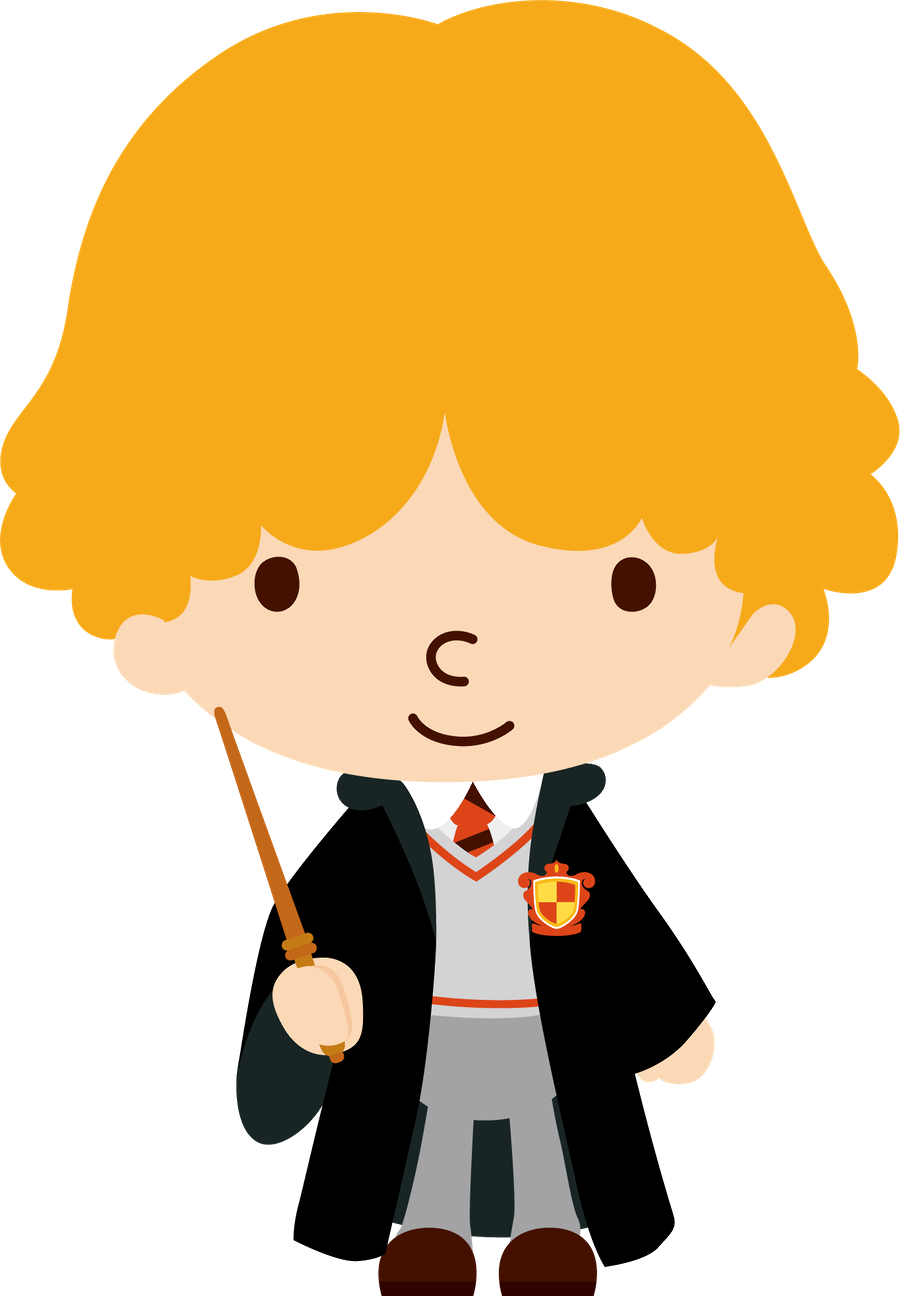 Harry potter minus monsters. Hair clipart ron weasley