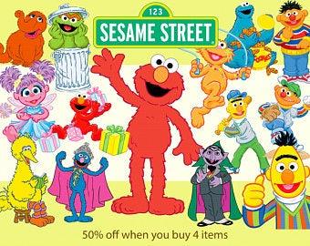 Etsy . Elmo clipart mini