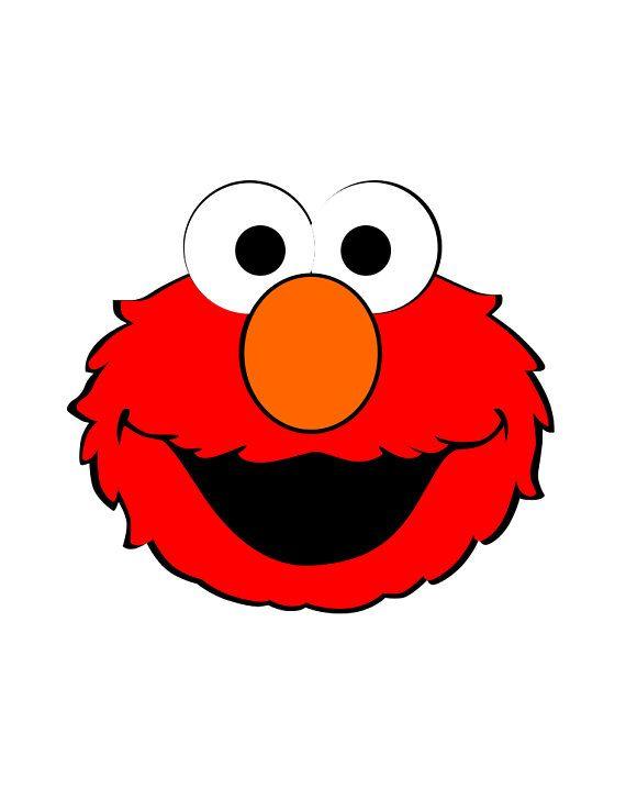 Elmo clipart stencil. Pin on sesame street