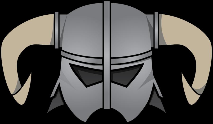 Iron by the pyri. Skyrim helmet png