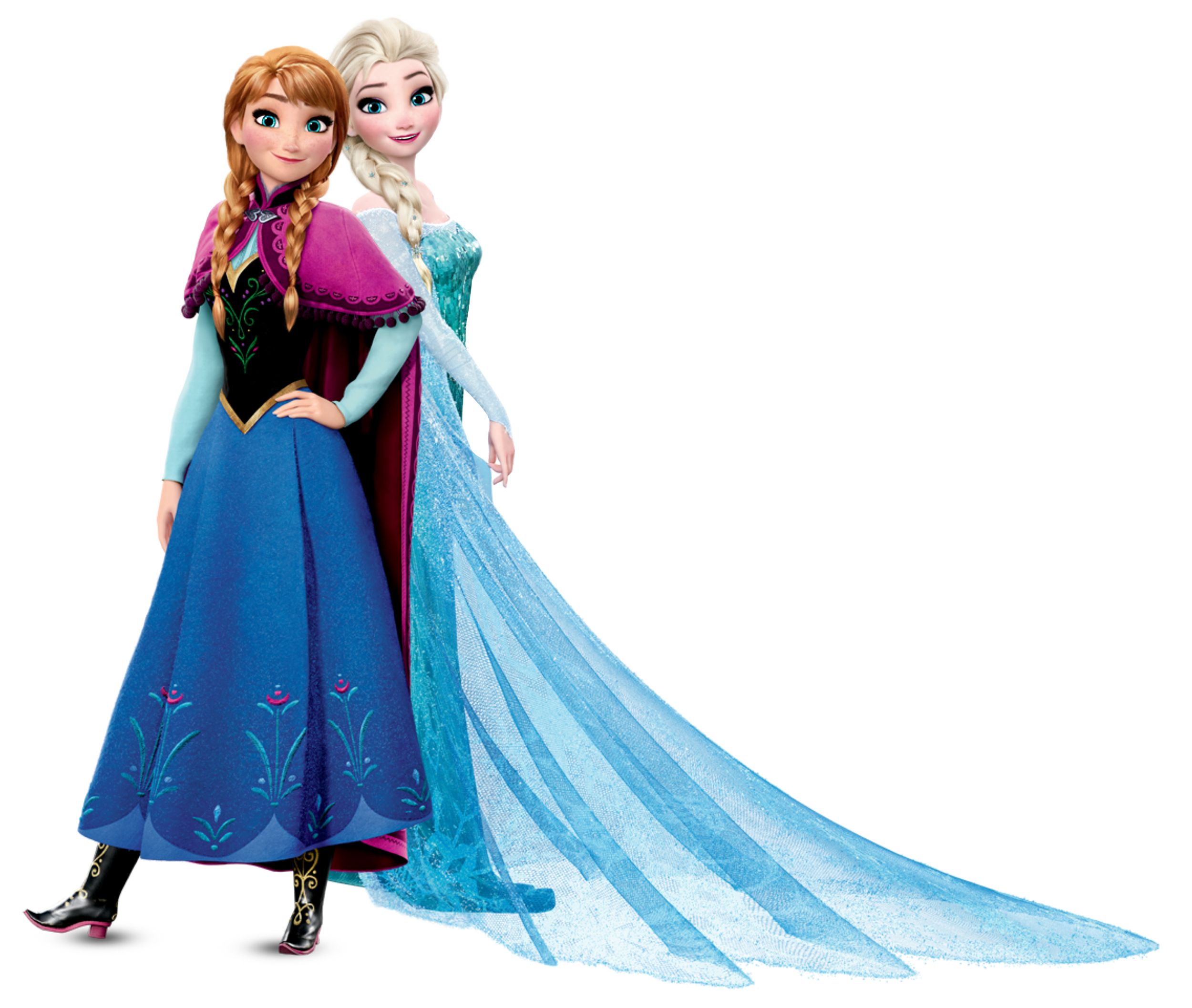 Elsa clipart. Anna and frozen transparent