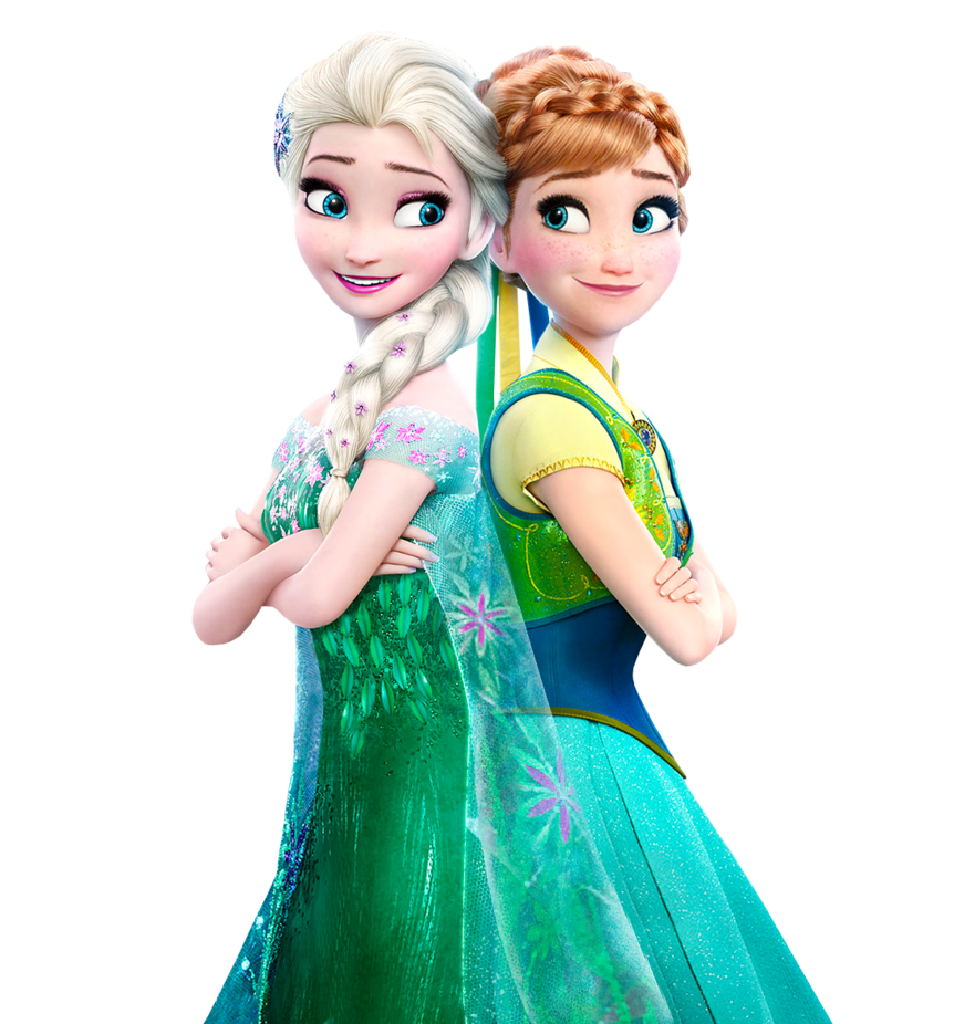 And from frozen disney. Elsa clipart anna round