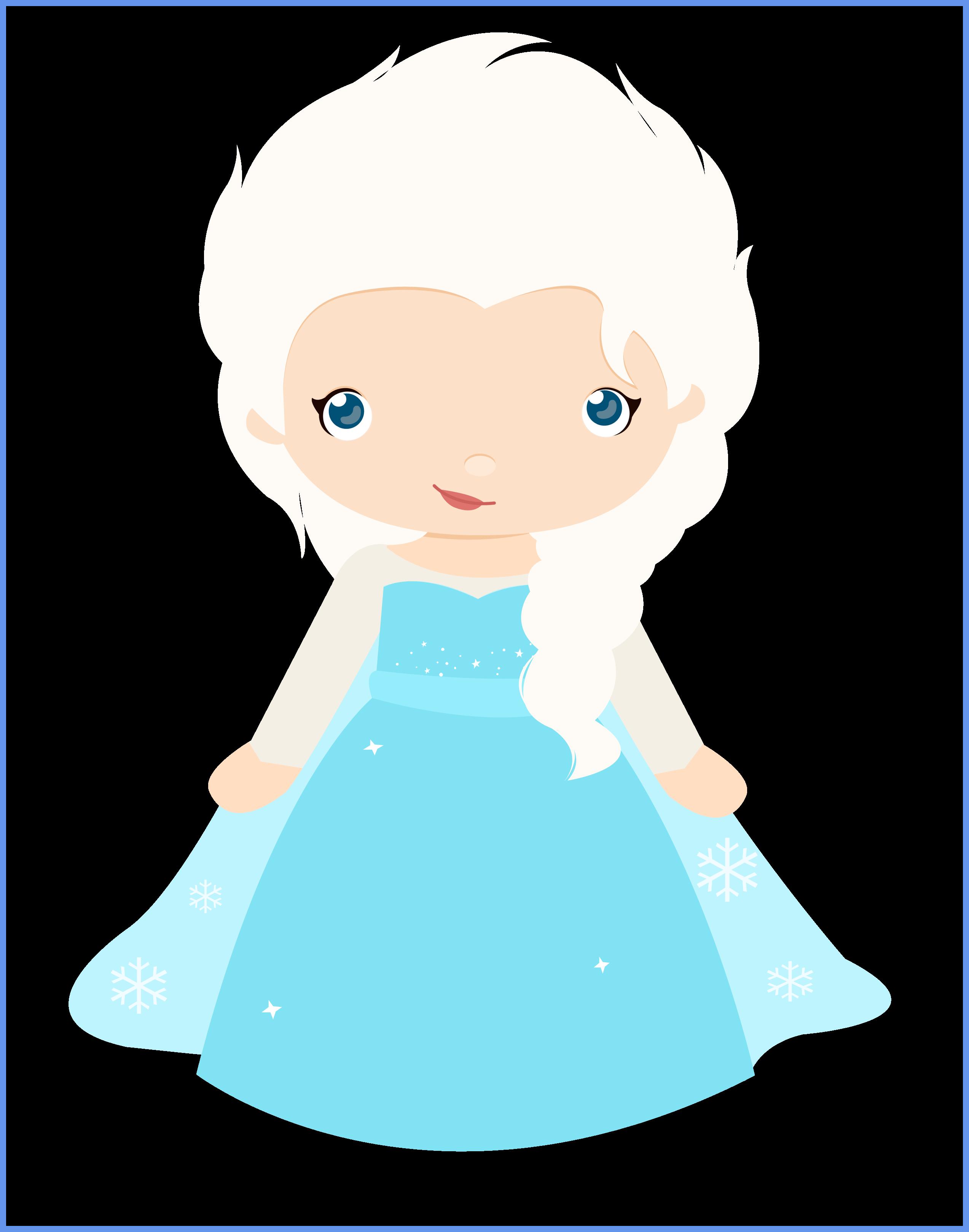Elsa clipart blue. Awesome disney frozen anna