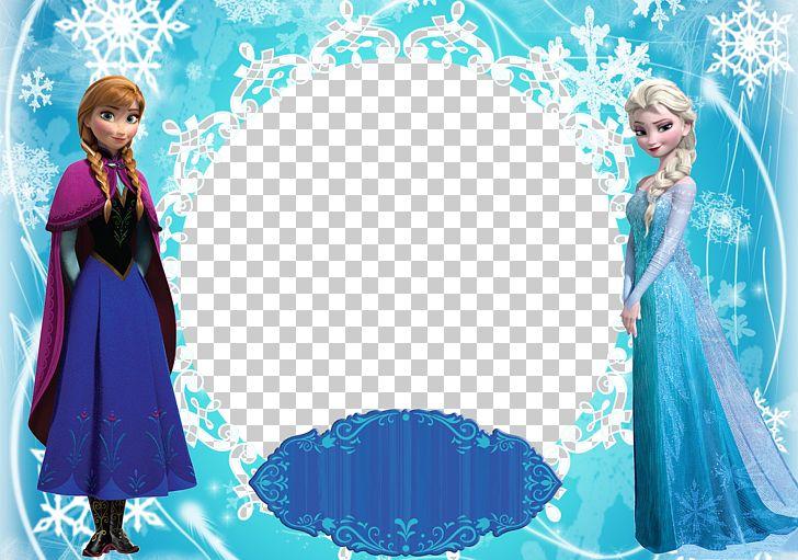 Frozen clipart picture frame. Elsa anna olaf frames