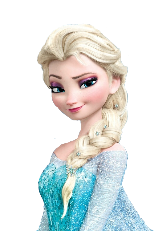 Png by prieditions d. Frozen clipart elsa hair