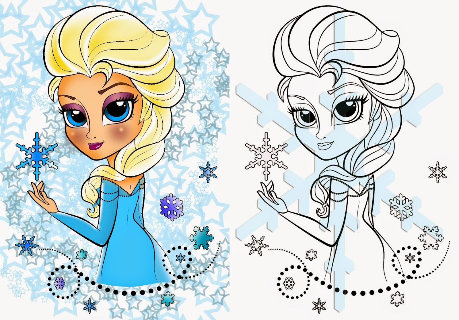 Elsa Clipart Coloring Page Elsa Coloring Page Transparent Free