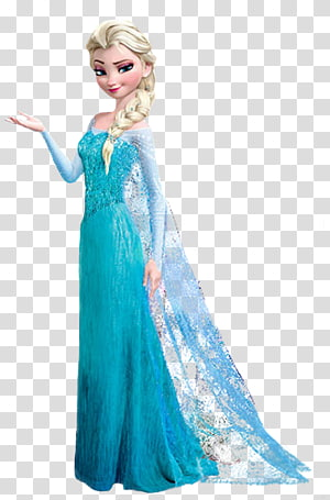 Elsa clipart elsa dress. Tomia girl wearing disney