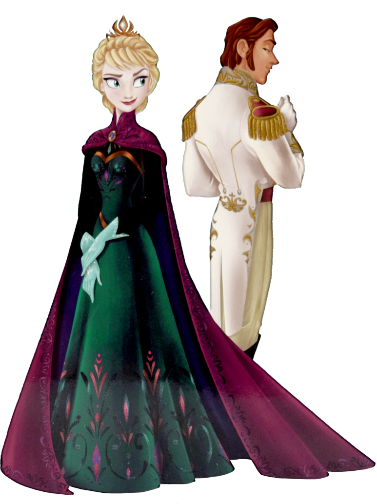 Elsa clipart fashion illustration. Hans and at the