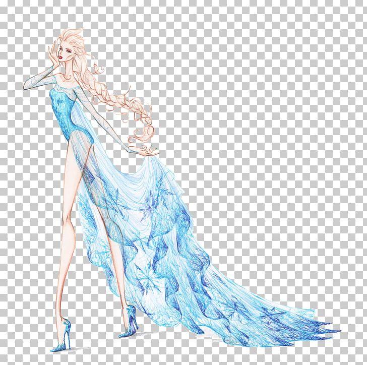 Elsa clipart fashion illustration. Rapunzel anna disney princess
