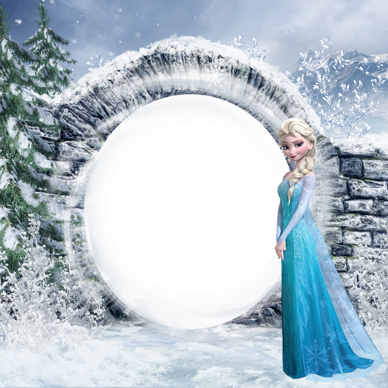 Elsa clipart frozen birthday. Kids png photo frame