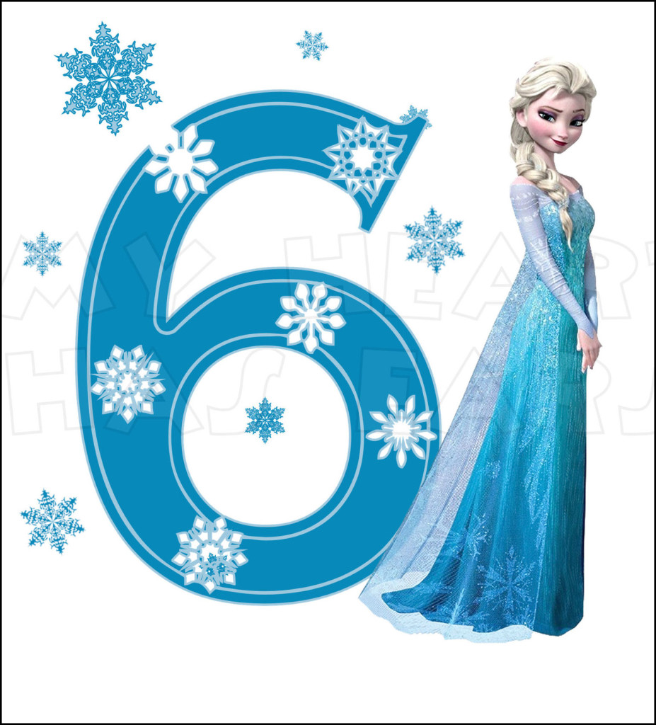 Elsa clipart frozen birthday. Disney s with number