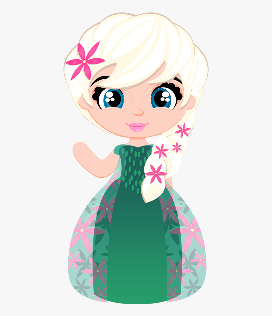 Elsa summer . Frozen clipart frozen cartoon