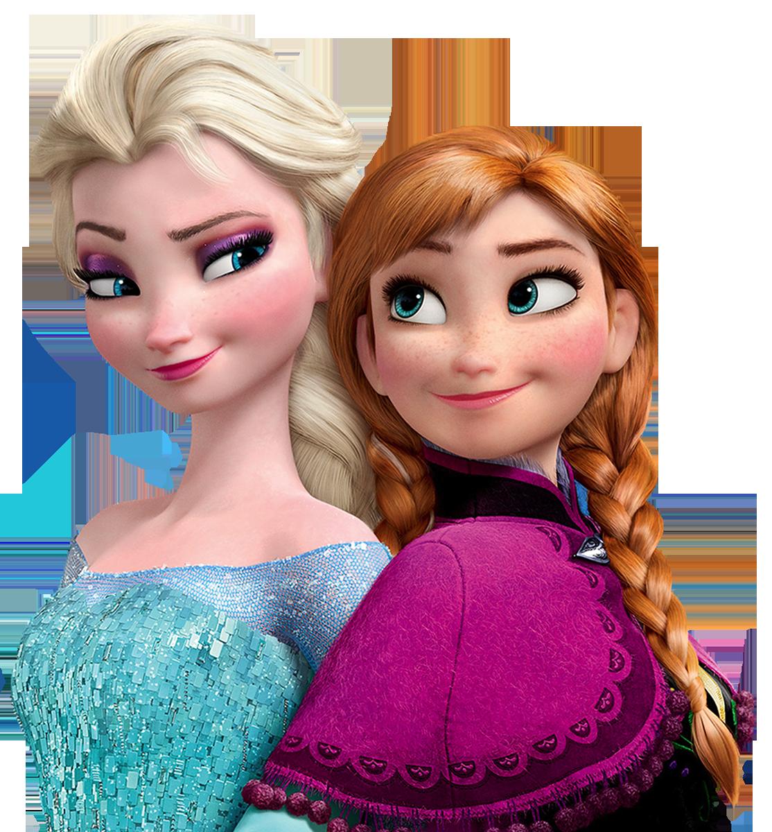 Elsa anna png . Frozen clipart frozen sisters
