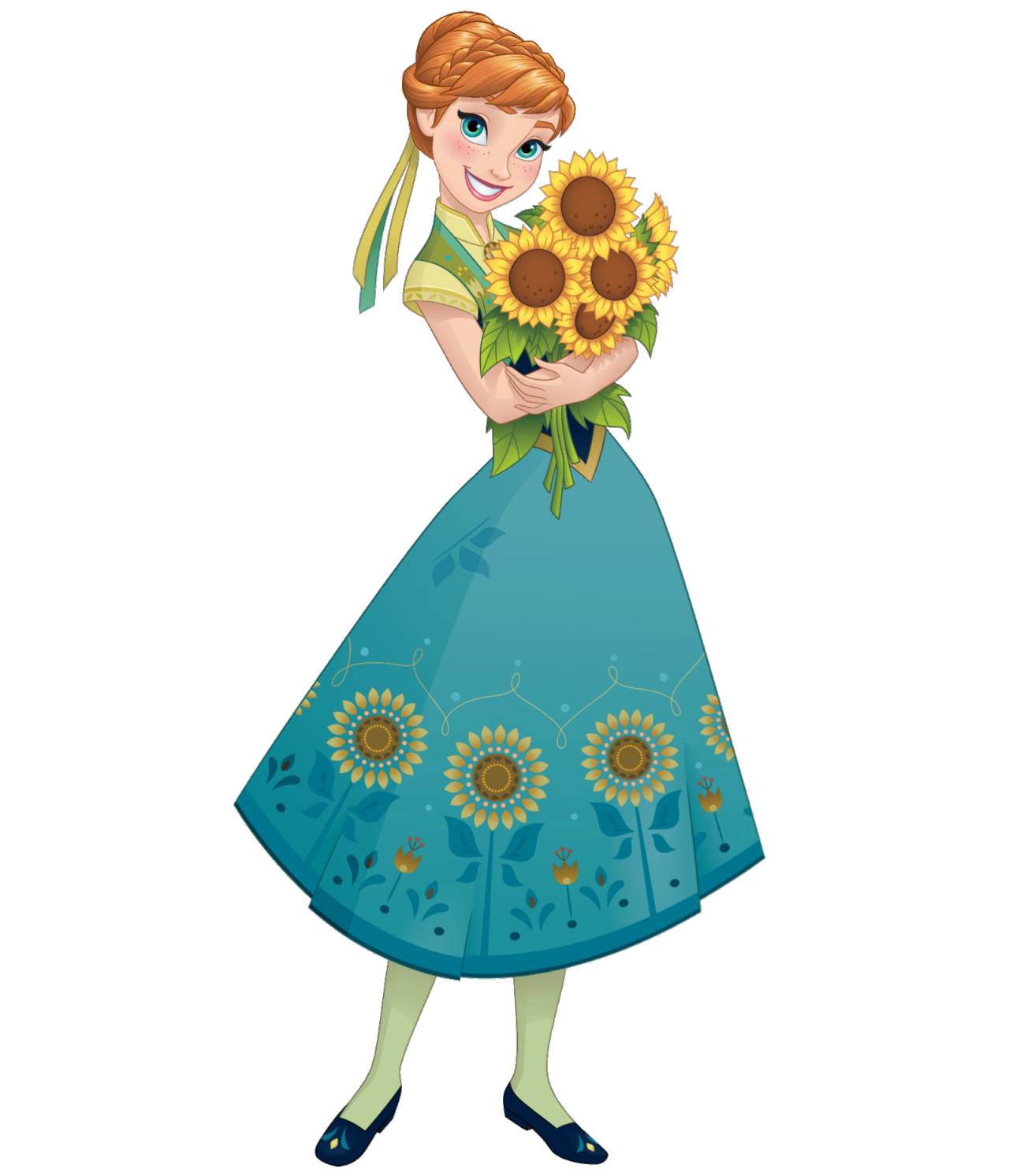 Elsa clipart king costume. Image anna frozen fever