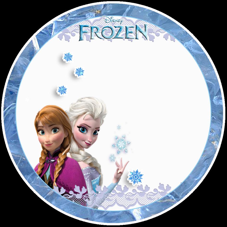 Frozen free printable toppers. Elsa clipart label