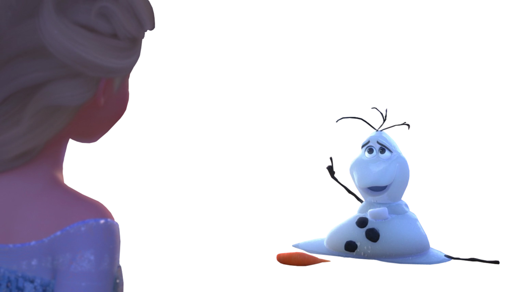 Elsa and by astrogirl. Olaf clipart melting