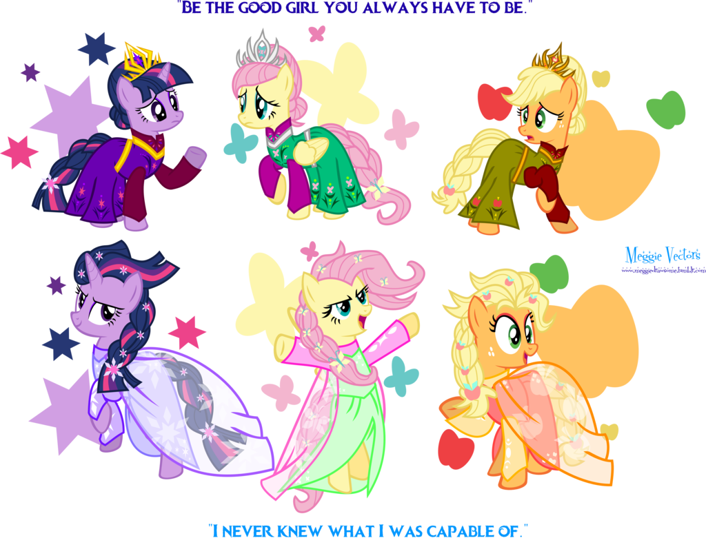 S outfits by meganlovesangrybirds. Elsa clipart pony