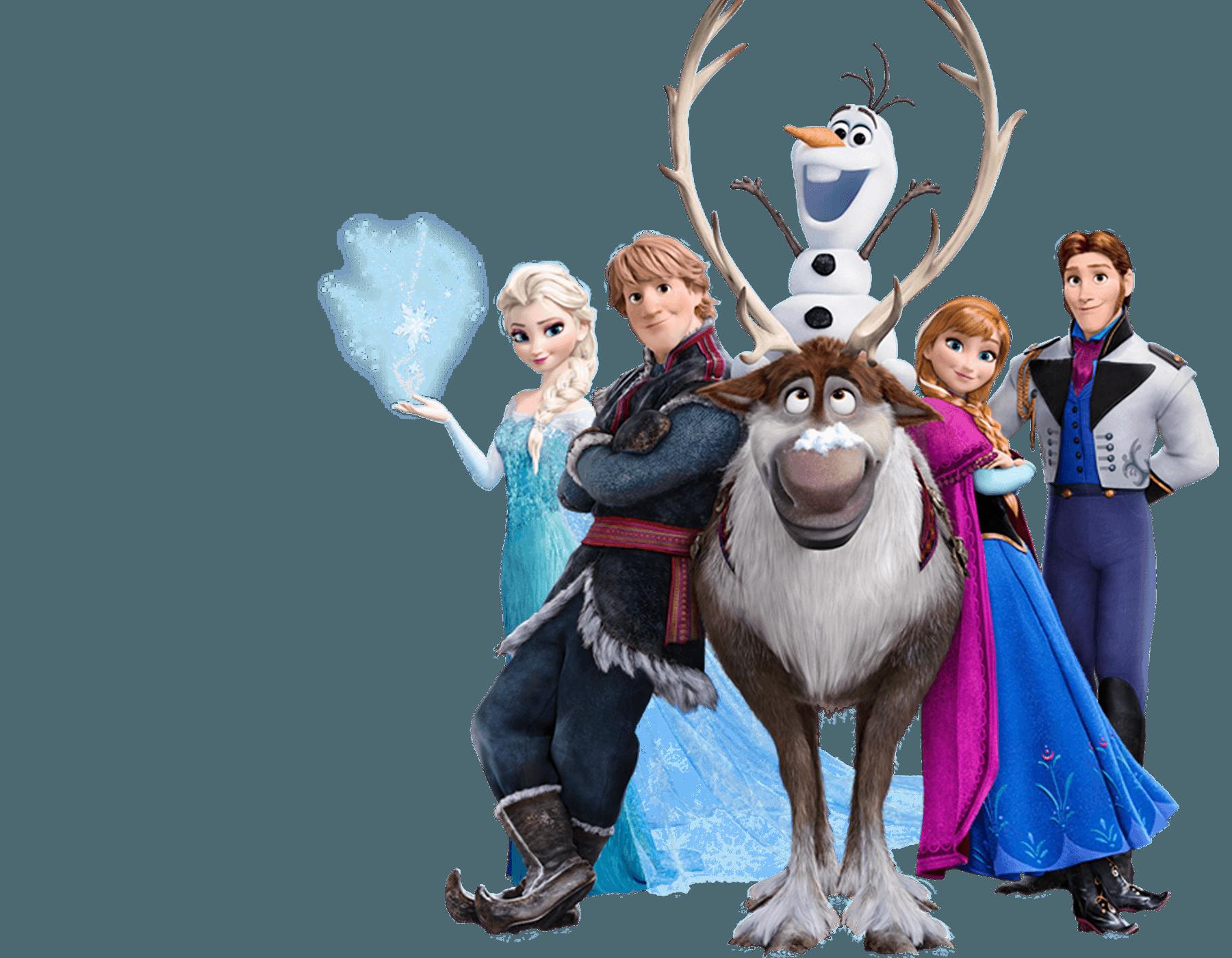 Frozen clipart frozen cast. Png transparent images pluspng