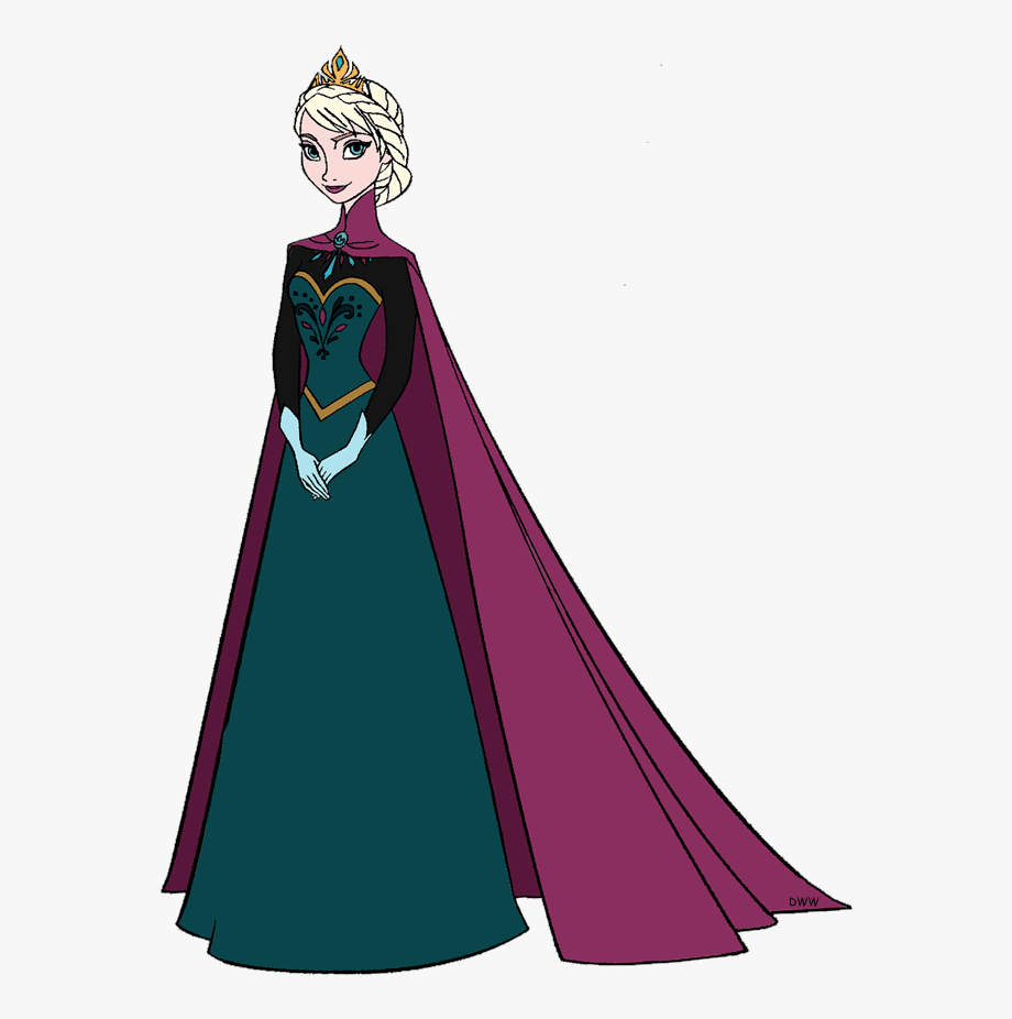 Queen clipart queen elsa. Http www disneyclips com