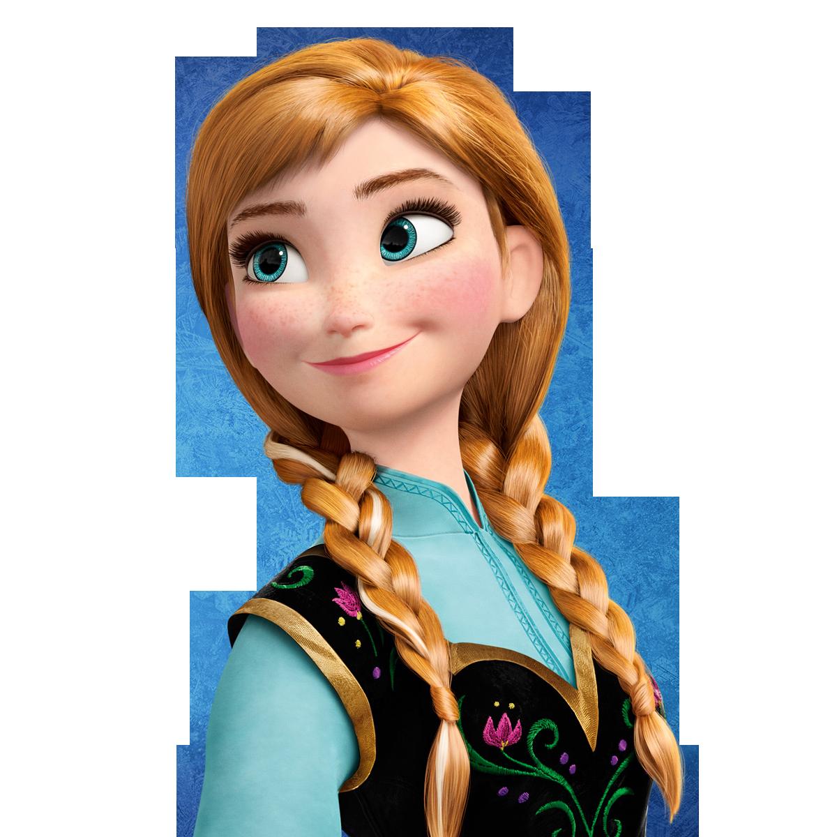 Free anna frozen png. Elsa clipart renders