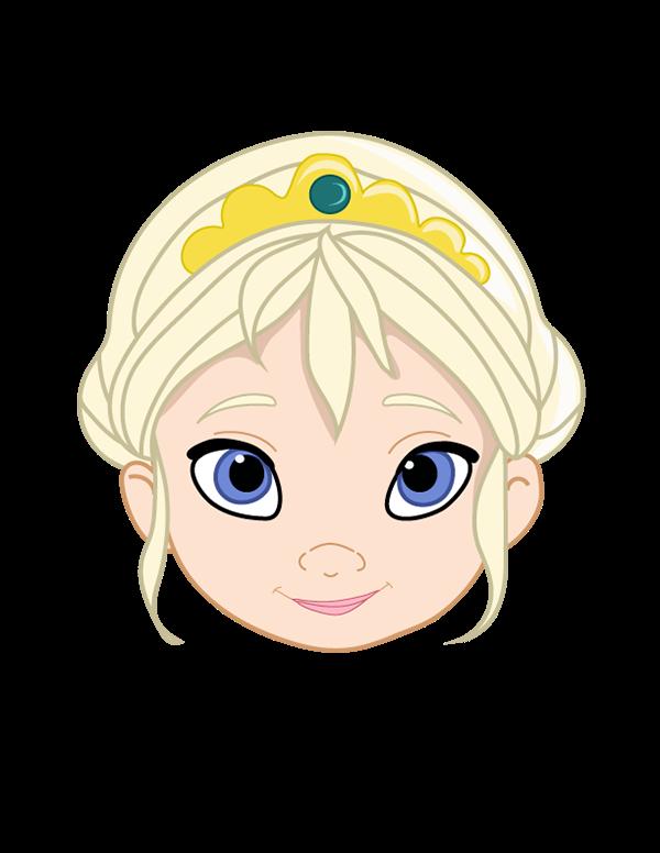Elsa clipart vector. Toddler on behance