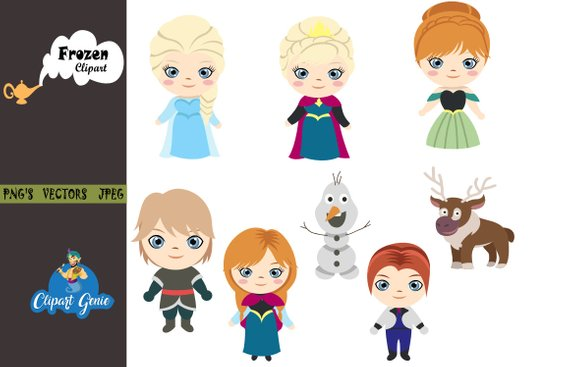 Elsa clipart vector. Pin on products