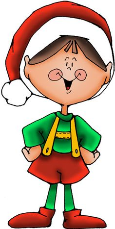 Santa and at getdrawings. Elves clipart