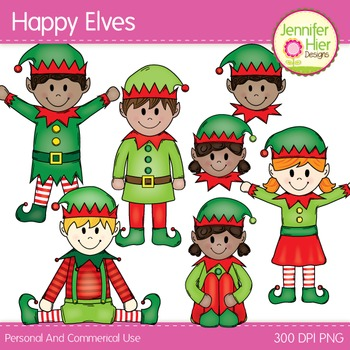 Elf clip art happy. Elves clipart