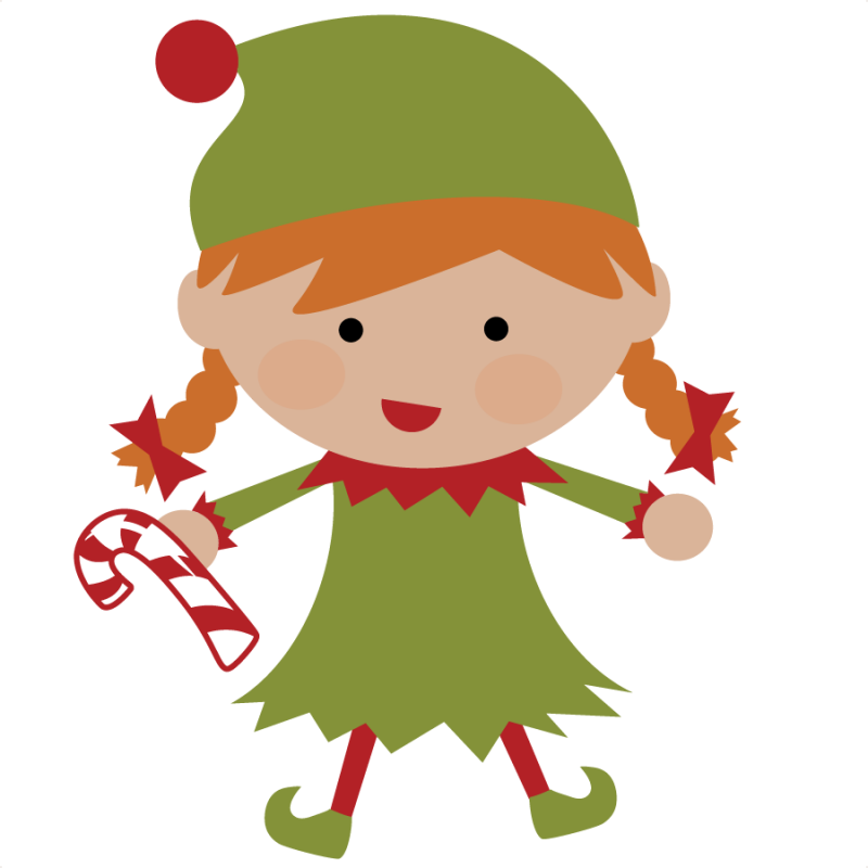 Cute . Elves clipart