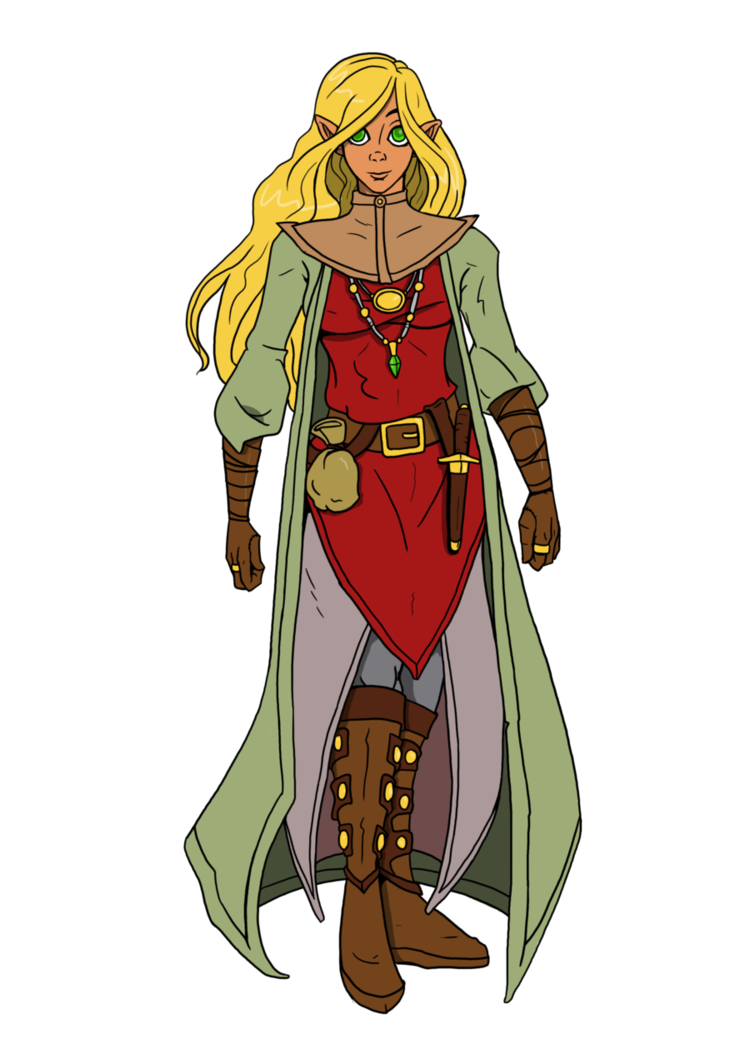 Elves clipart clothing. Anaroriel high elf wizard