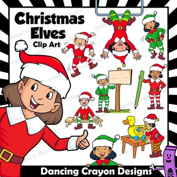 Christmas clip art with. Elves clipart dancing elf