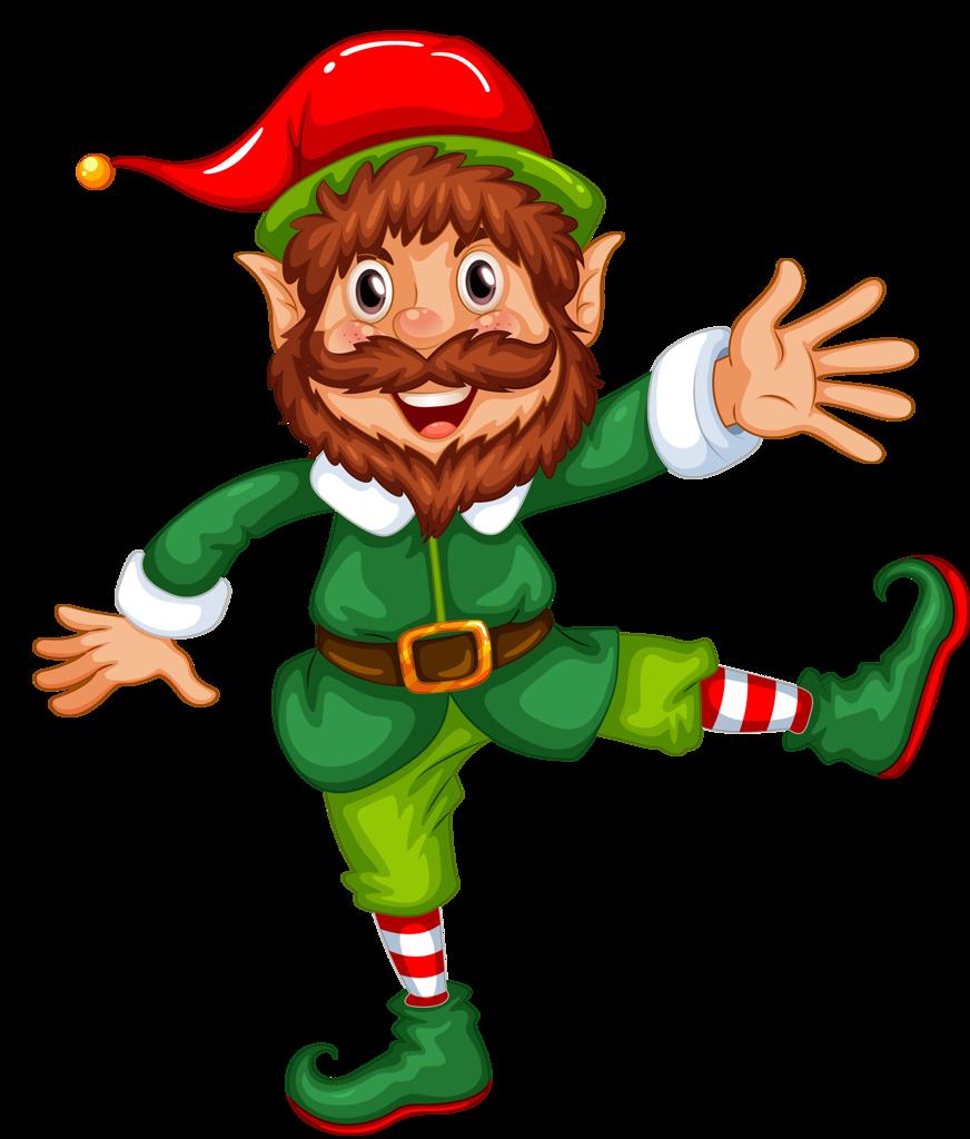 Retro clipart elf.  png pinterest natal