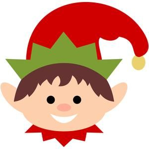 Silhouette design store search. Elves clipart elf face
