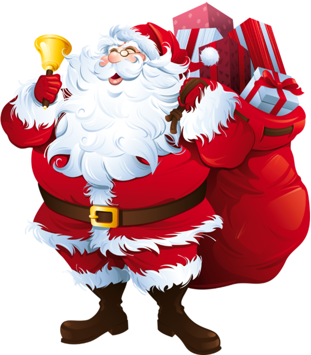 Santa claus transparent image. Holidays clipart thing