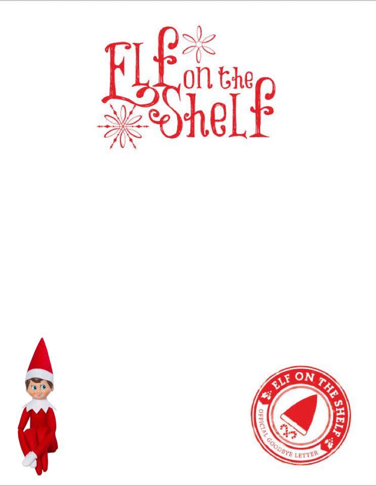 elves clipart letterhead