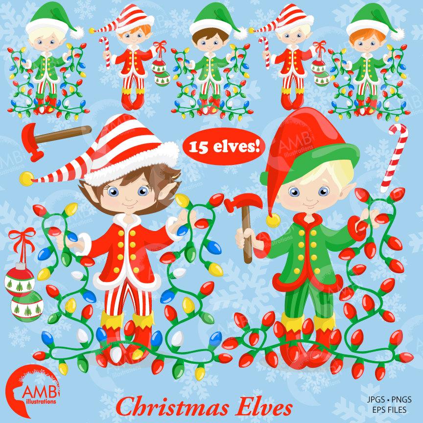 Elves clipart north pole. Christmas girl santa s