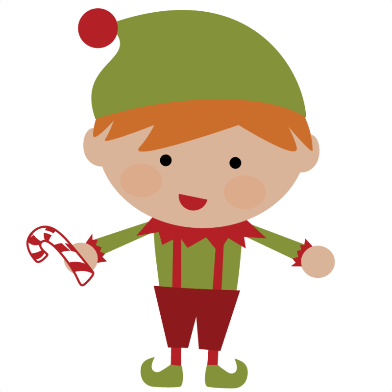 Elves clipart pants. Santa and elf on