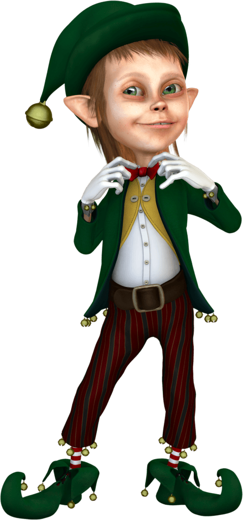 Elf handprint cliparts free. Elves clipart pants