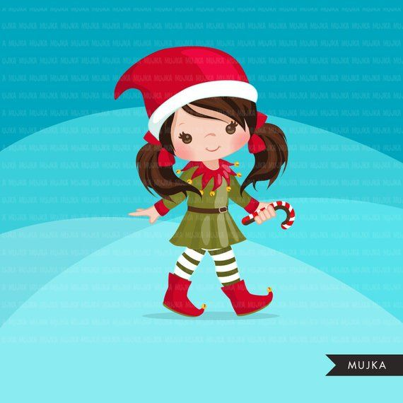 Pin on images cutting. Elves clipart sticker