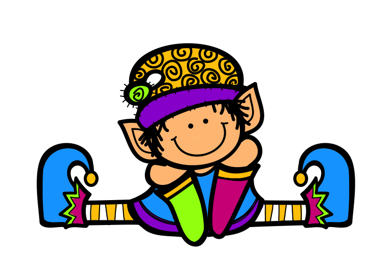 Pin by carlota rodriguez. Elves clipart writing
