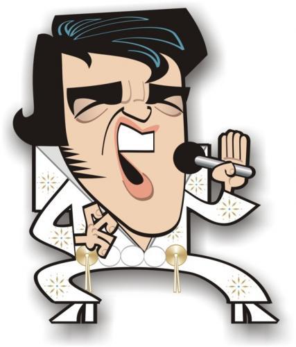 Silhouette clip art at. Elvis clipart