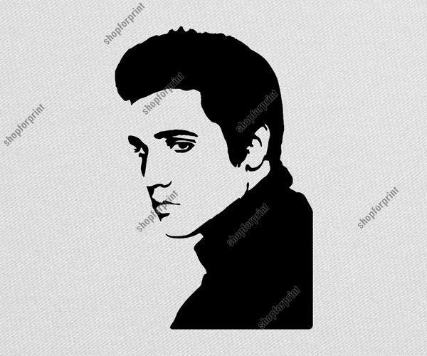 Vector free. Elvis clipart