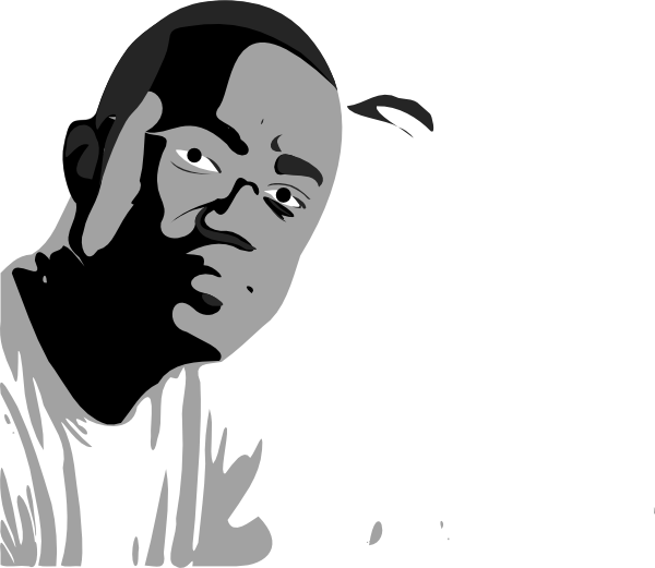 Male clip art at. Hands clipart african american