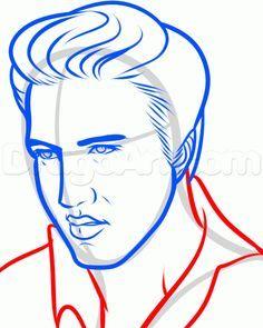 Elvis clipart drawing. Presley free download best