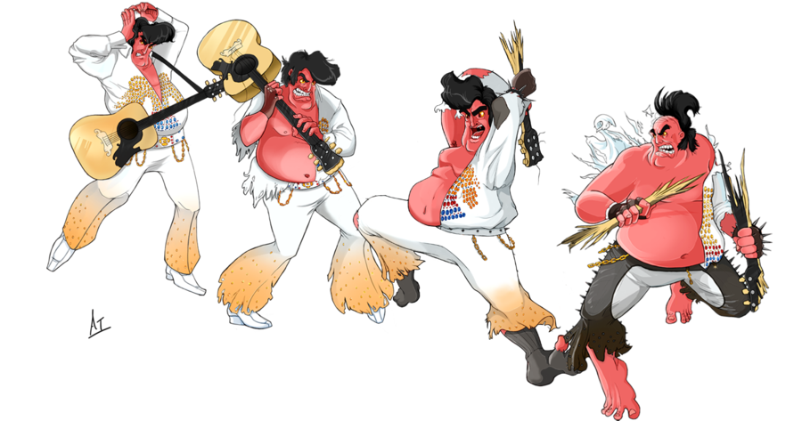 Elvis clipart drawing. Image ur by azure